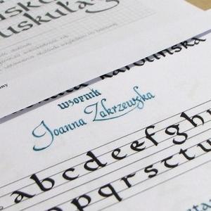 Pismo wykonane piórem